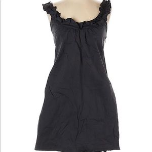 Fei dress size 2 black ruffle straps